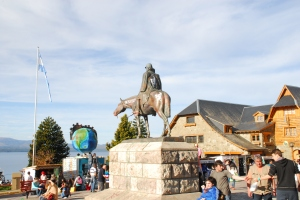 Art fair in Bariloche`s main square