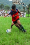 Football at Dewanchok school