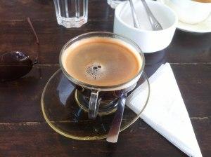 A coffee in Kathmandu