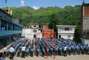 Assembly at Waling School