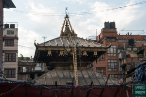 One of many temples in Kathmandu