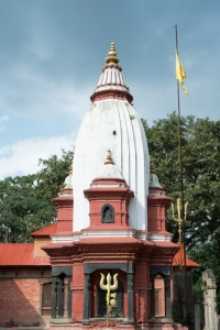 One of the many temples at Pashupatinath