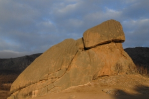 Turtle rock, Terelj National Park