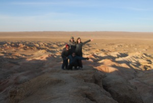 Our Gobi tour group