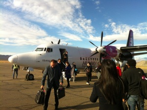 Our plane to Ulgii- a smooth, three-hour flight